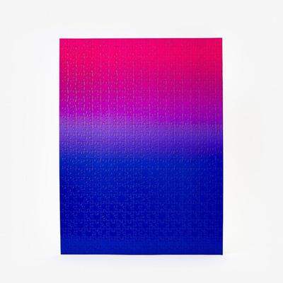 Puzzle Gradient 500 Teile | Blau & Rosa