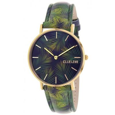 Palm Tree Watch | Black & Green