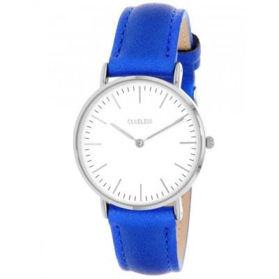 Silver Watch | Blue