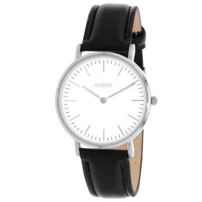 Silver Watch | Black