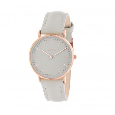 Rose Gold Watch | Grey