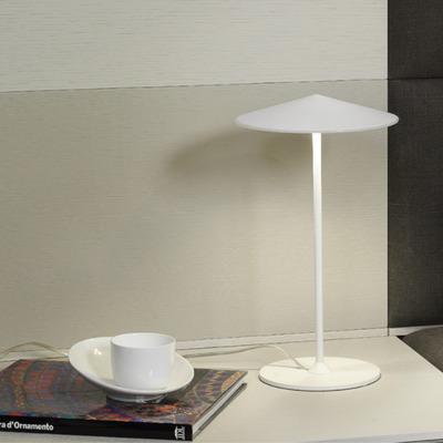 Table Lamp Pla Ø 20 cm | White