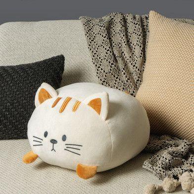 Kussen Kitty | Wit Polyester