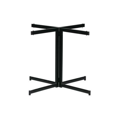 Cross-4 Fusse für Tisch   Schwarz