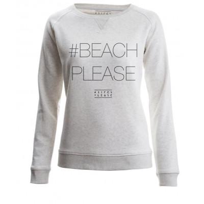 #BEACHPLEASE Sweater Long Sleeves | Cream