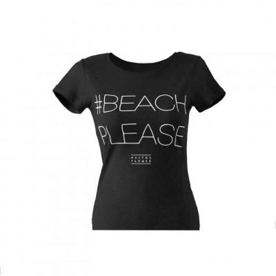 #BEACHPLEASE T-shirt   Black