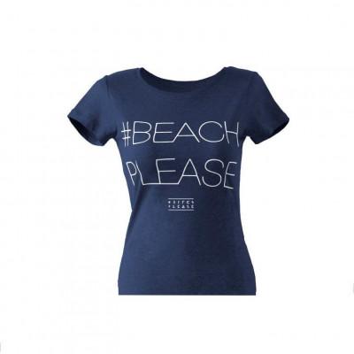 #BEACHPLEASE T-shirt   Blue