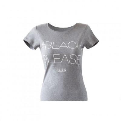 #BEACHPLEASE T-shirt | Grey