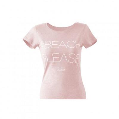 #BEACHPLEASE T-shirt   Pink