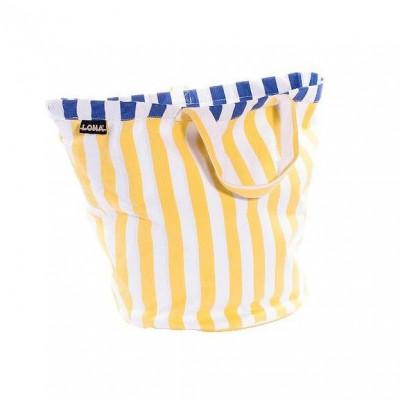 Strandtasche | Gelb/Blau