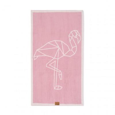 Spa-Handtuch   Flamingo