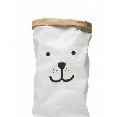 Papier-Aufbewahrungstasche | Bär
