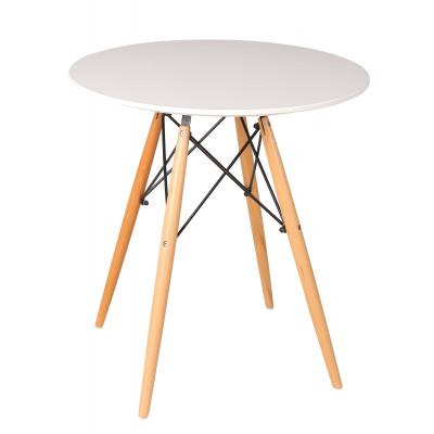 Tisch Manda Ø 80 cm | Weiß