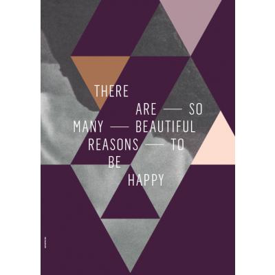 Geometrie der Liebe Poster | Beautiful Reasons