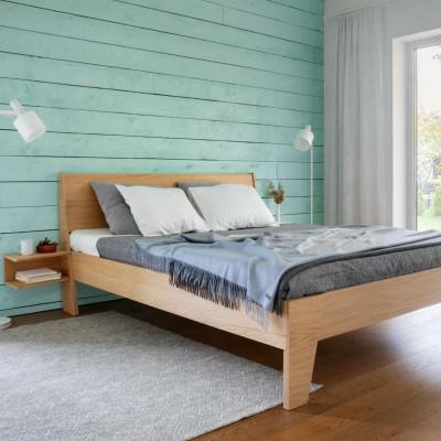 Bett HUH mit Nachttischen