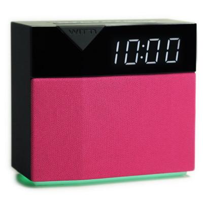 Beddi Intelligent Alarm Clock | Style + Pink Cover