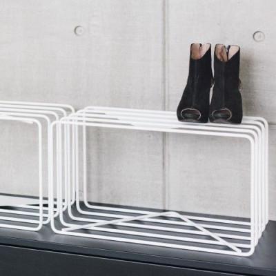 Schuhständer Lume | Weiß