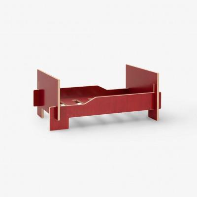 Kläffer Dog Bed | Red