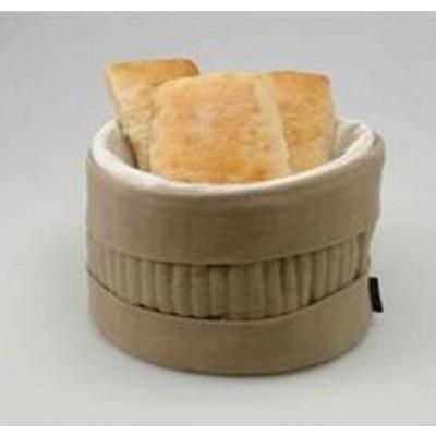 Heated Bread Basket Beige