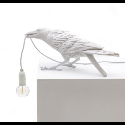 Lampe Vogel Spielen | Weiß