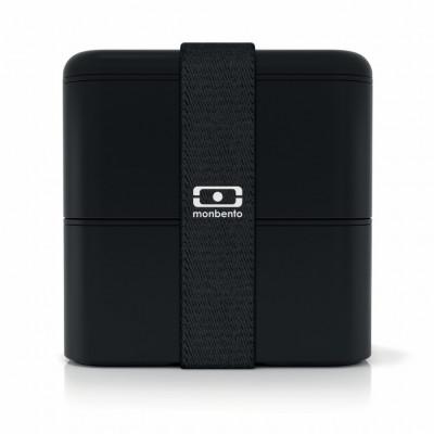 Lunchbox MB Original-Quadrat | Schwarz