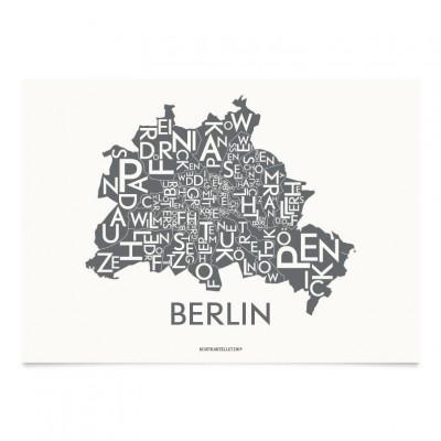 Berlin Poster | Grau