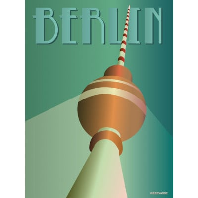 Berlin Poster   Fernsehturm