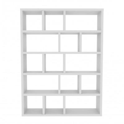 Bücherregal mit 5 Böden Berlin | Weiß