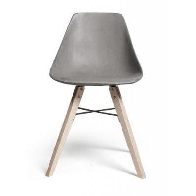 Stuhl Hauteville | Sperrholz und Beton