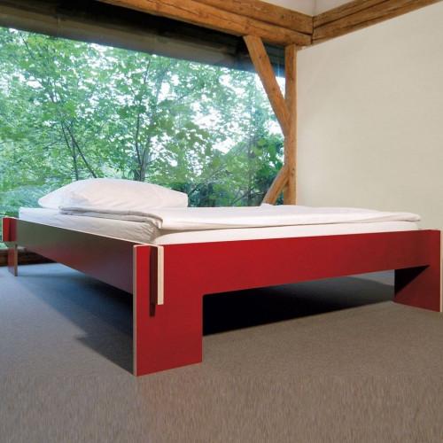 Siebenschläfer Bed   Red