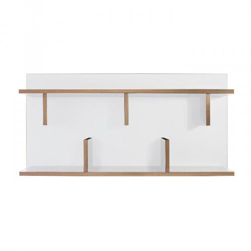 Wandregal Bern 90 | Weiß