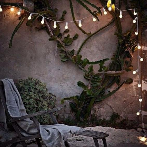 Gartenbeleuchtung Bella Vista   Weiß
