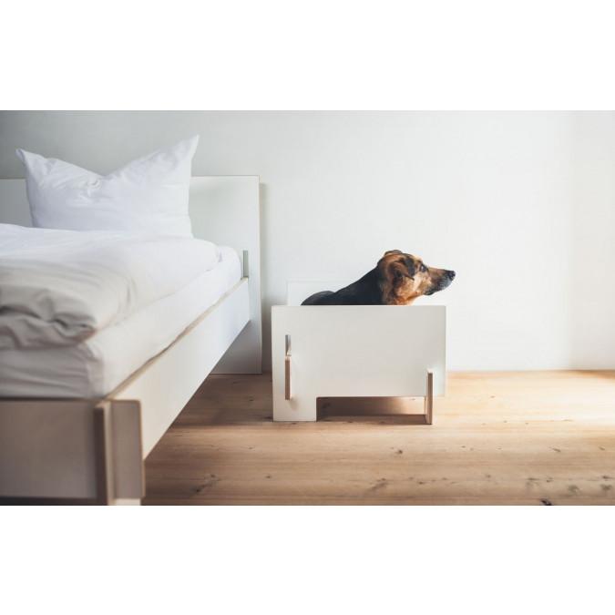 Kläffer Dog Bed | White