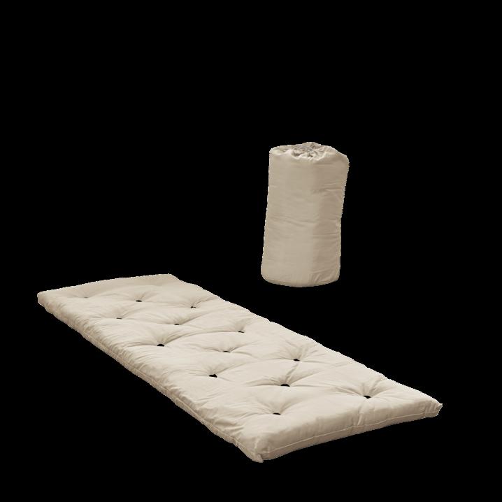 Bett in einer Tasche   Beige