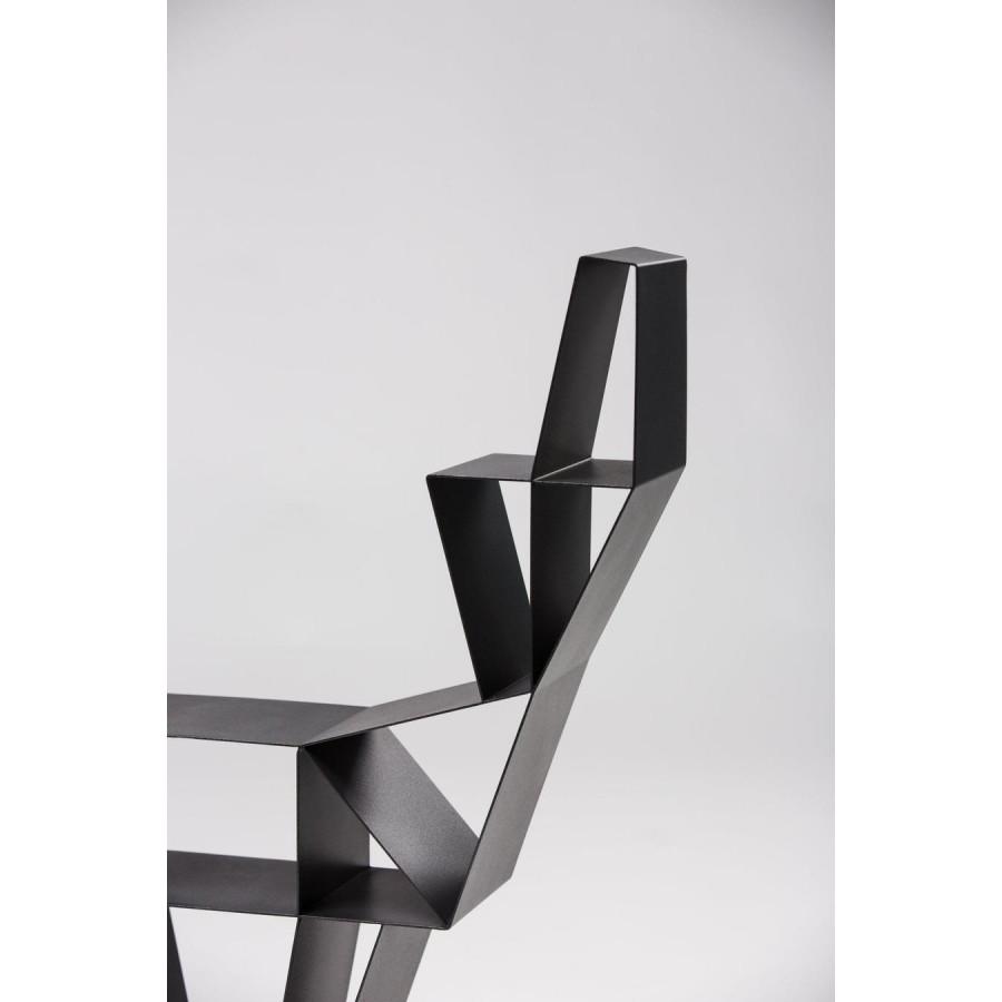 Shelf Metal Deer Small | Black
