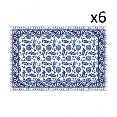 Vinyl-Tischsets Armenien 6er-Satz
