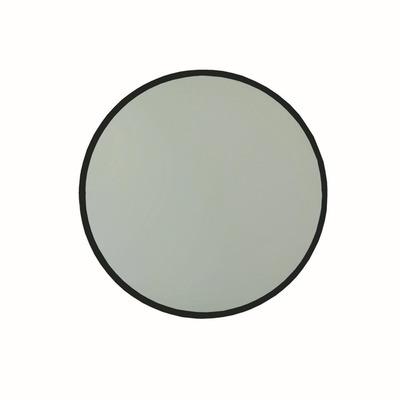 Dekorativer runder Spiegel A711 | Schwarz