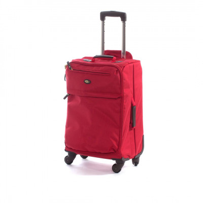 Travel Bag   Travel Trolly 4 Rosso