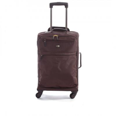 Travel Bag   Travel Trolly 4 Marrone