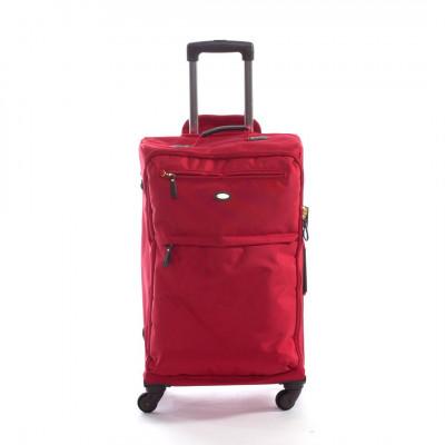 Travel Bag   Travel Trolly 4 Rosso Big