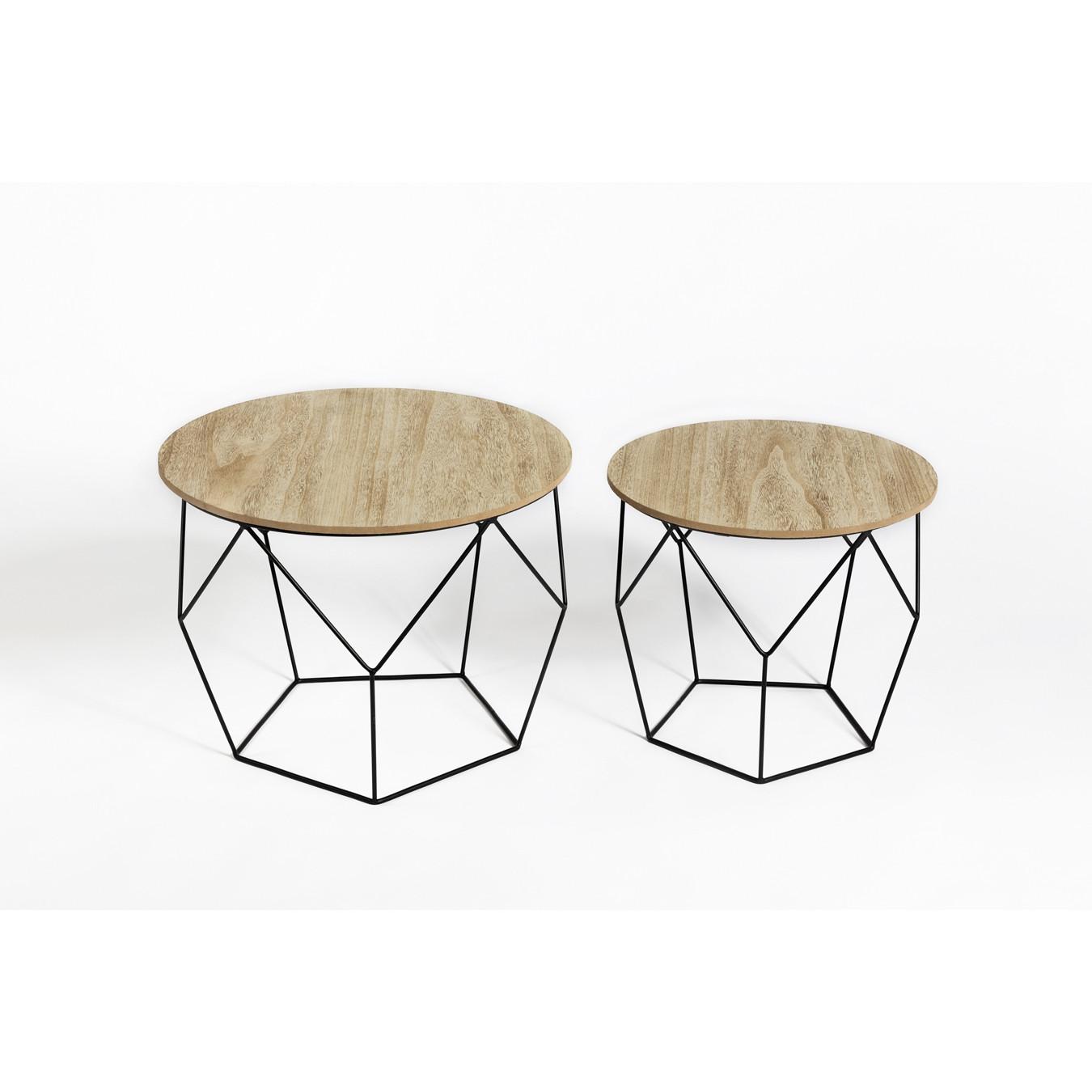 Side Tables Gustav Set of 2