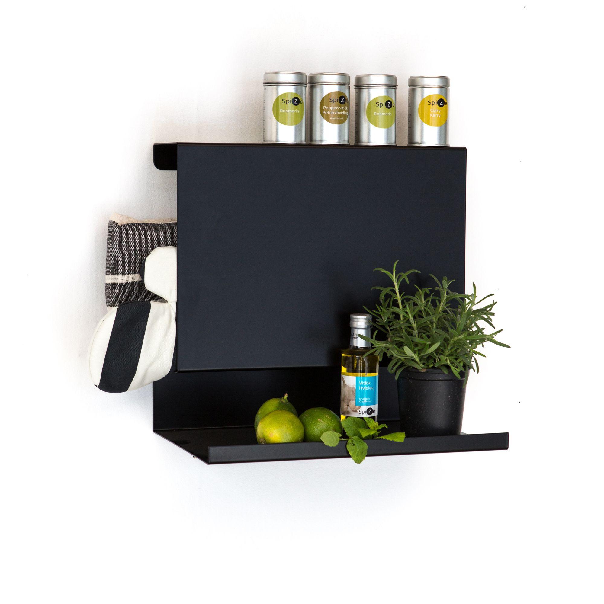 Shelf Big Ledge   Black
