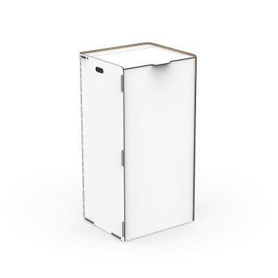 Einseitiger Wäschehalter Bibox | Weiß