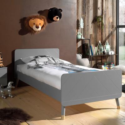 Kinderbett Billy   200 x 90 cm   Grau