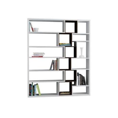 Bücherregal Roscoe | White & Wengé