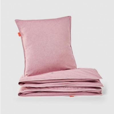 Bettbezug und Kissen   Rosa