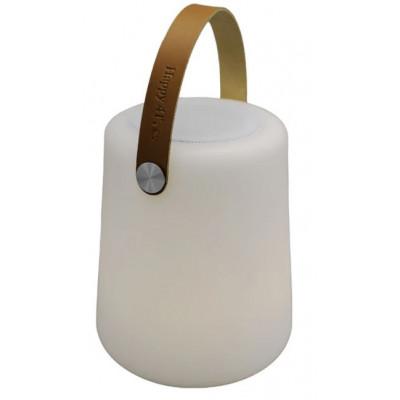 LED Lampe & Bluetooth Lautsprecher mit Lederhandgriff | Lightspeaker Big