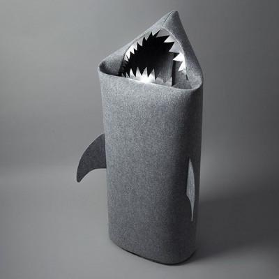 Big Shark gray (silver teeth)