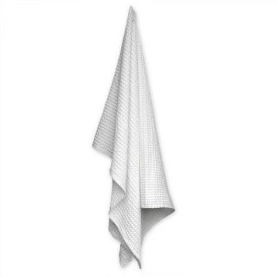 Big Waffle Towel/Blanket   White