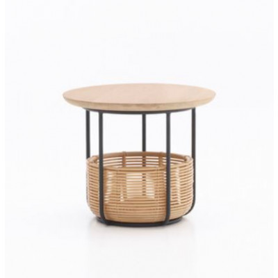 Basket Side Table Vivi